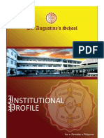 Institutional Profile of St. Augustine's School, Iba, Zambales
