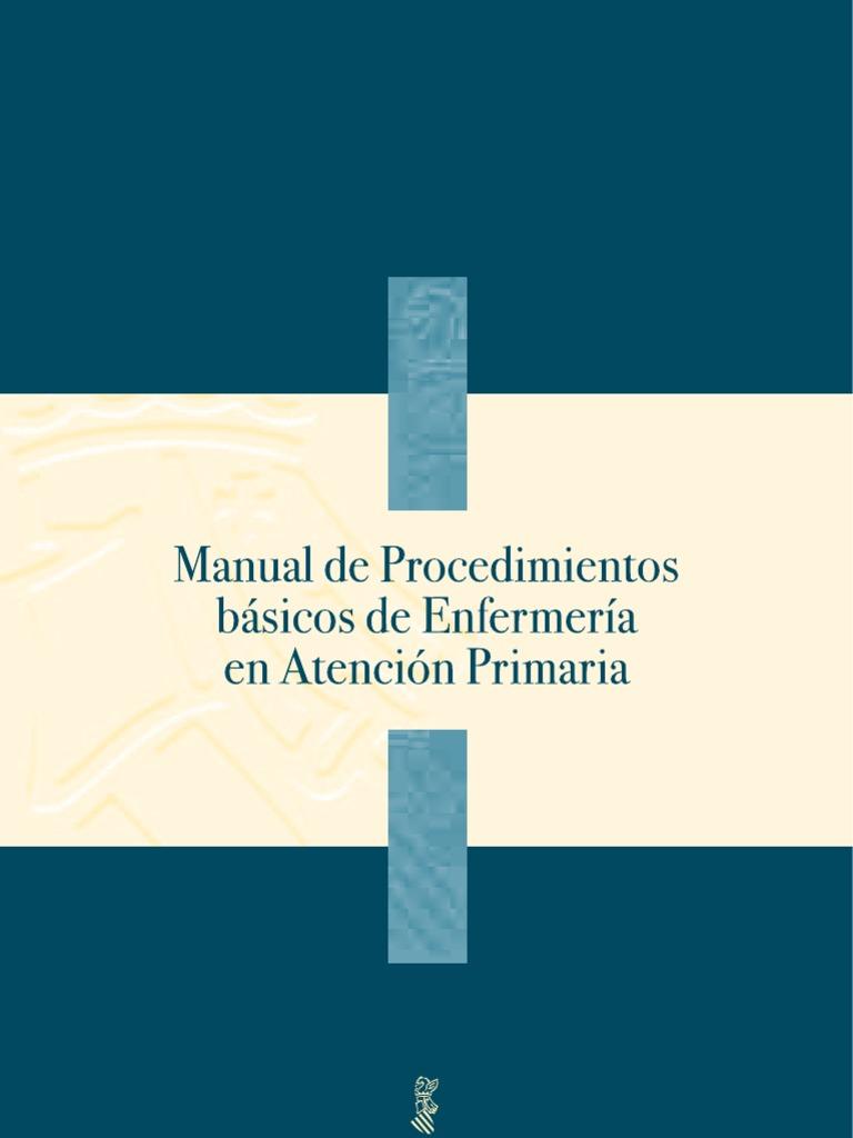 manual de procedimientos b sicos de enfermer a de atenci n primaria rh es scribd com manual de procedimientos atencion primaria Ejemplo De Manual De Procedimientos