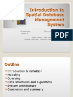 Spatial Database Management System - BlackFridayWeb