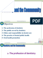 Dentistry and Community IUST 010-011