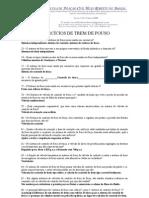 EXERCÍCIOS DE TREM DE POUSO - 3°