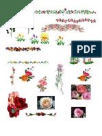 Cliparts - Flores especiais