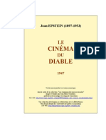 Epstein Cinema Du Diable