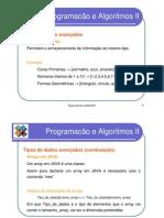 Programação e Algoritmos Parte IV