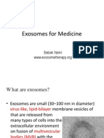Exosome Therapy
