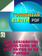 TORMENTAS ELECTRICAS CAMPO