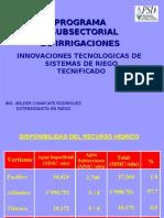 Innovaciones Tecnologicas de Riego Tecnificado (1)