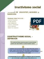 Presentación APRENDIZAJE CONSTRUCTIVISMO