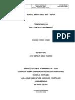 MANUAL BASICO DE LA BIOS-SETUP  - GUILLERMO CASTAÑO RAMIREZ - FICHA CURSO 216262