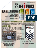 Help Our Heroes Flyer