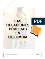 LAS RELACIONES PÚBLICAS EN COLOMBIA