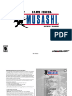 Brave Fencer Musashi [PSX] Manual