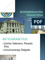 INTERMEDIACIÓN FINANCIERA