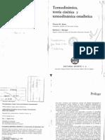 Mica, Teoría Cinética y Termodinámica Estadística - Sears y Salinger
