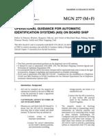 Ais Operaton Guidance MGN 277