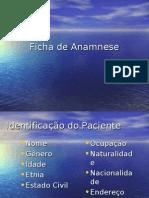 Ficha de Anamnese