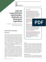 02.073 Estimación de requerimientos nutricionales. Nutrición en situaciones específicas
