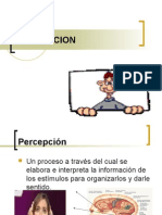 Percepcion