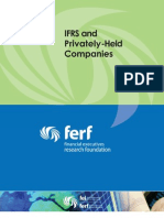 IFRS and Privately-Held Companies