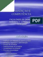 Aulas - jurisdicao competencia