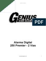 Alarma Genius Digital 250 Premier