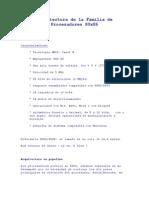 Arquitectura de La Familia de Procesadores 80x86
