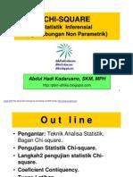Biostatistik -Uji Chi Square, Fisher, Rr Dan or - Pertemuan 22-10-11