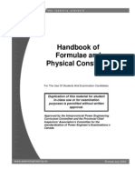 Handbook of Formulae and Constants 1