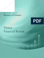 Afghanistan 2009 Donor Financial Review