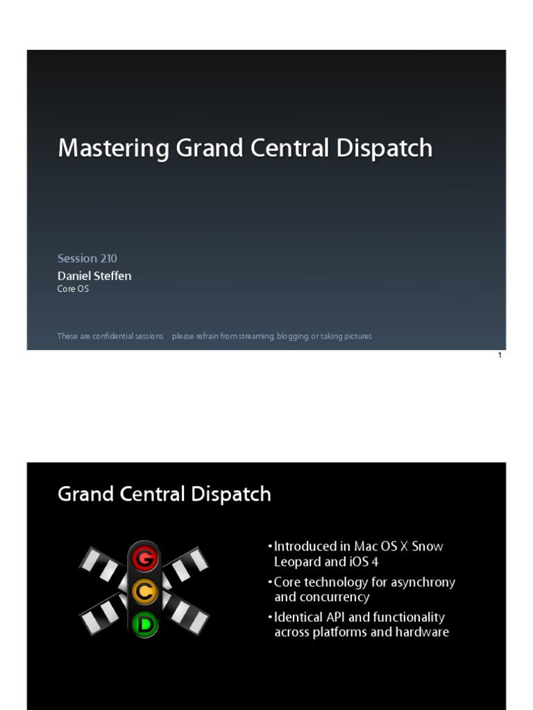 210 Mastering Grand Central Dispatch | Queue (Abstract Data