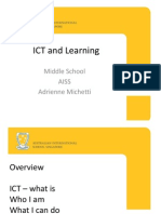 ICT and Learning Intro