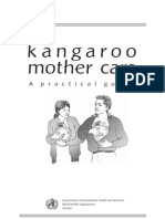 Kangaroo Mother Care- A Practical Guide - English