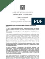 1TAREA DE PLANACIÓN METODOLOGIA