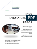 Manual Lab Oratorio Fisica i