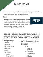 Software Untuk Statistika