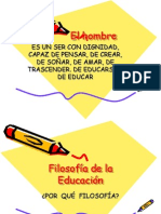 Filosofía+de+la+Educaciónpower