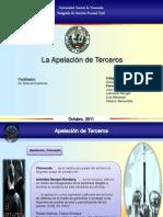 APELACIÓN DE TERCEROS
