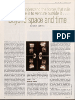 New Scientist- Beyond Space and Time