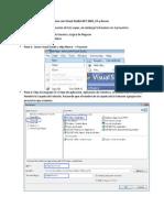 Guía de Creación de Aplicaciones con Visual Studio NET 2005, C# y Access