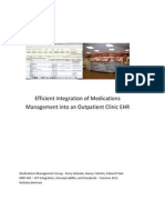 medications management - team project final report