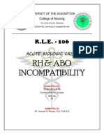 RH AND ABO INCOMPATIBILITY