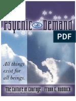 Psychic Demand