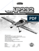 Hangar9 Cap 232 Manual