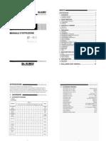 VHF DJ-180 Manuale Italiano