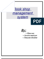 Book Shop Management System