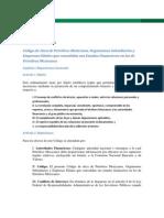 Código de Ética de la Red MESURA Interinstitucional