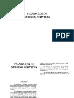 Standard of Nursing Services