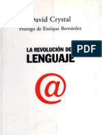 [Crystal, David[]La revolucion del lenguaje][Sociología-Ensayo][pdf]