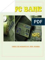 Hdfc Bank Final Project