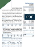Market Outlook 24th October 2011